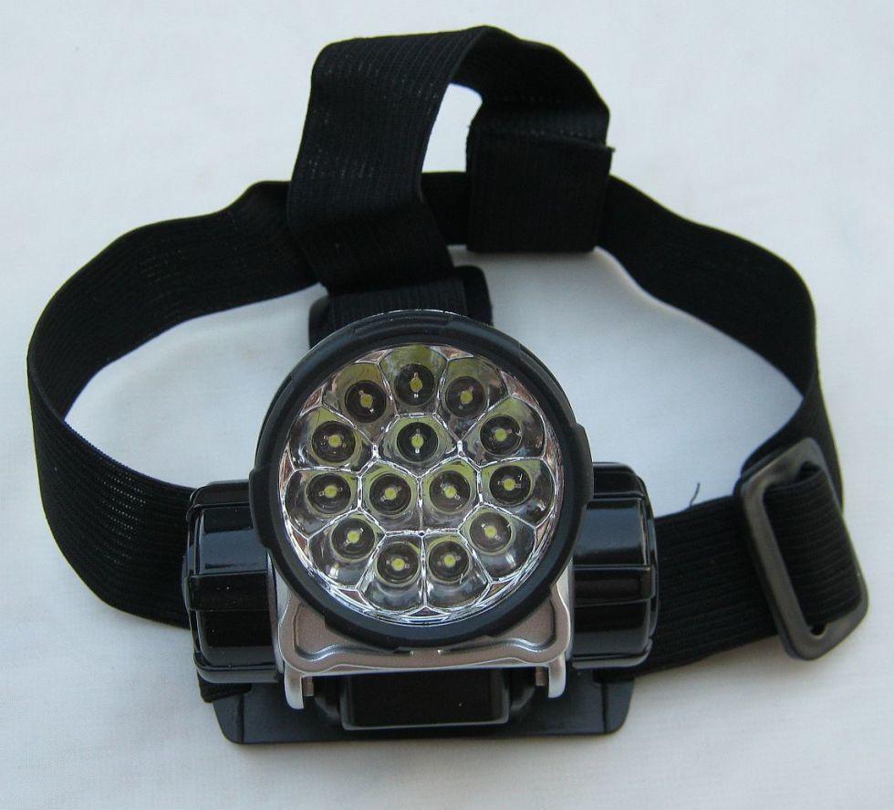 Налобный фонарик на 14 светодиодов