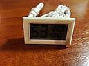 Термометр, термометр-гигрометр для инкубаторов, теплиц, террариумов - WSD (ВСД) Барометр, фото 2