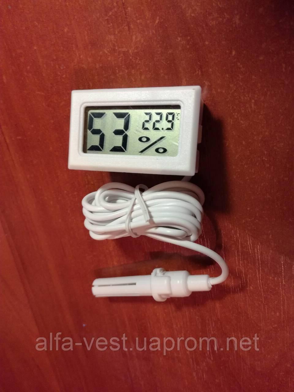 Термометр, термометр-гигрометр для инкубаторов, теплиц, террариумов - WSD (ВСД) Барометр