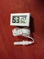 Термометр, термометр-гігрометр для інкубаторів, теплиць, тераріумів - WSD (ВСД) Барометр