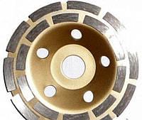 Чашка алмазная шлифовальная АСЕСА сегментная двухрядная 125*22.2 мм