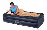 Односпальне надувна ліжко Intex:66721 (191*99*47см) Pillow Res