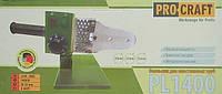 Паяльник для пластиковых труб Pro Craft Pl1400, 1400Вт, фото 1