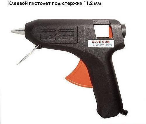 Пистолет клеевой 40 Вт, в блистере (InterTool, RT-1011)