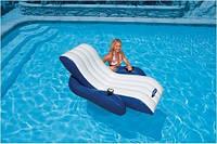 Пляжное надувное кресло для воды Intex 58868 (180*135 см)
