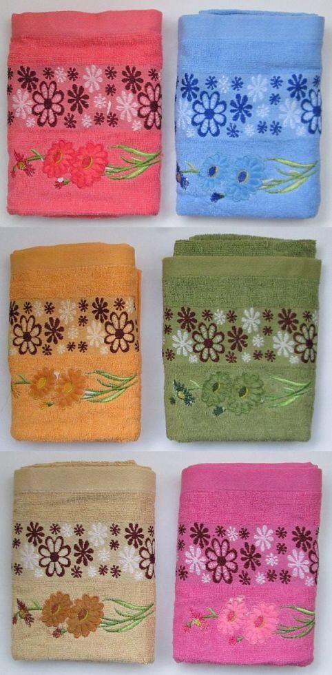 Полотенце махровое для лица и рук  (50*90см)