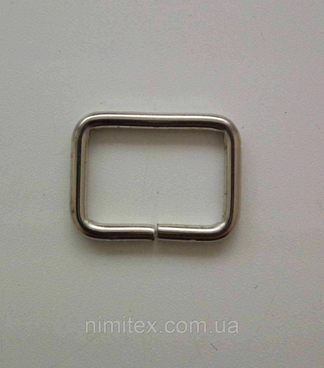 Рамка лита 30 мм нікель