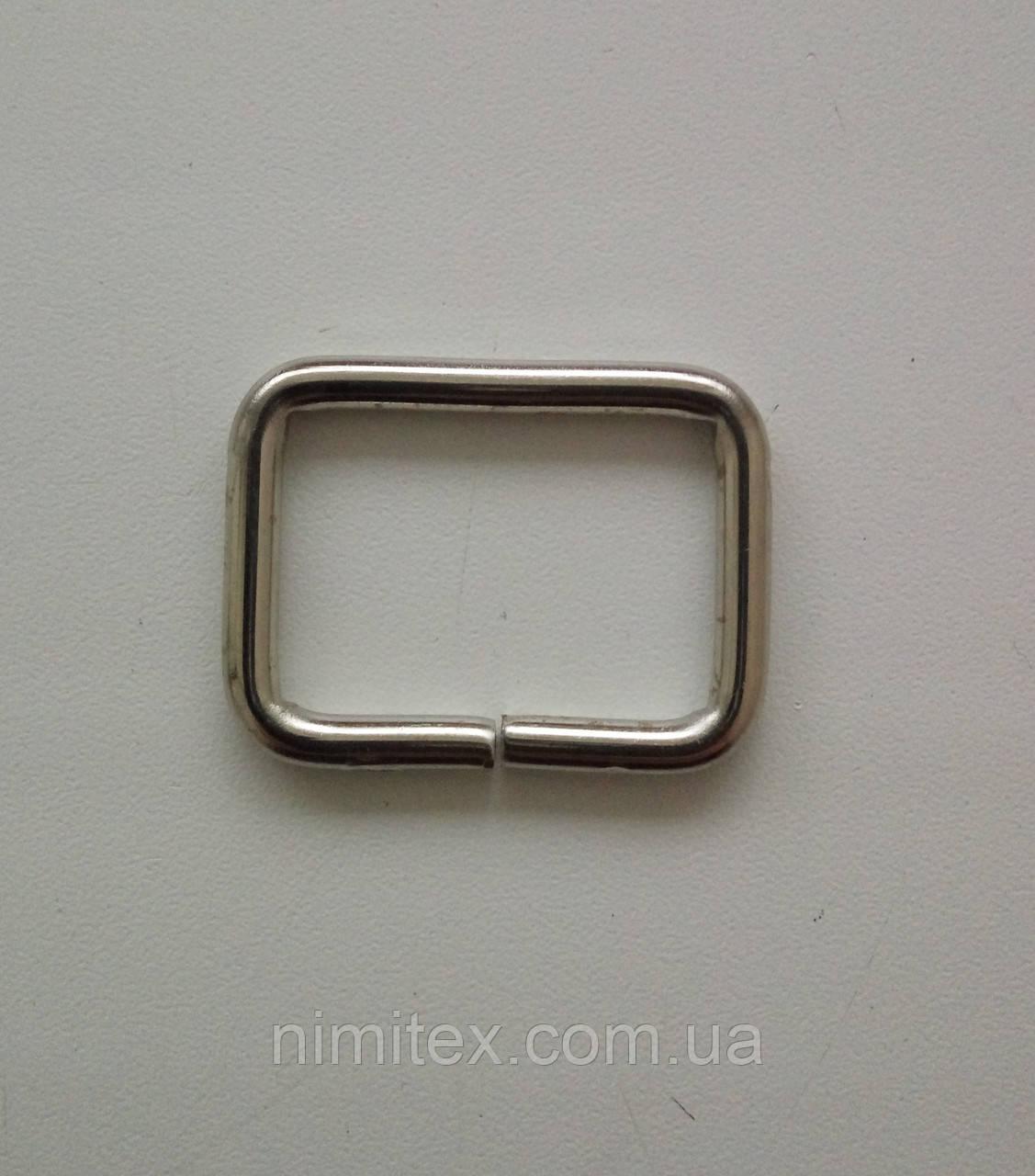 Рамка литая 30 мм, никель