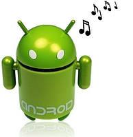 Портативная колонка в виде робота Android, USB, MP3