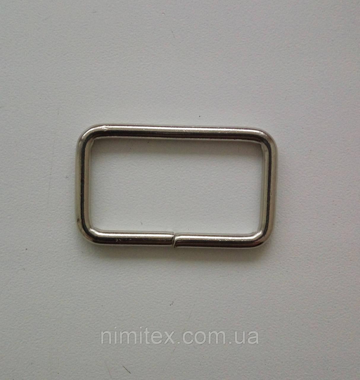 Рамка литая 35 мм, никель