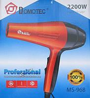 Профессиональный фен для волос Domotec Ms-968, 2200 W, фото 1