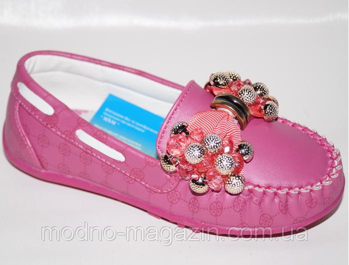 Туфли мокасины для девочки, 27-32