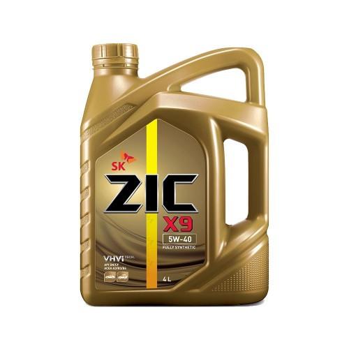 Синтетическое моторное масло ZIC X9 5W-40 4L