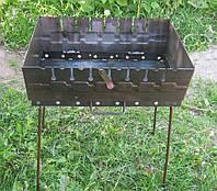 Розкладний мангал валізу на 8 шампурів 2мм