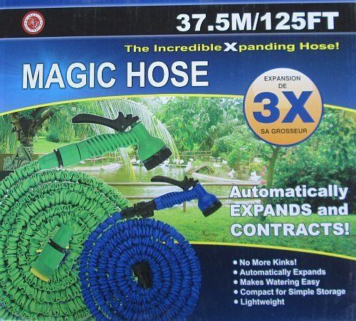 Садовый шланг для полива Xhose 37,5 м с распылителем