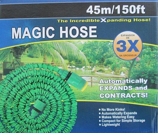 Садовый шланг для полива Xhose 45 м с распылителем