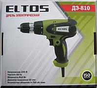 Сетевой шуруповерт Eltos ДЭ-810