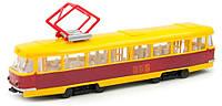 Модель Технопарк - Трамвай Big со светом и звуком (CT12-428-2WB-U)