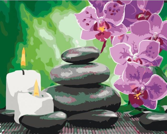 Картина по номерам Релакс КНО2033 Идейка