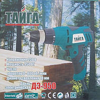 Мережевий шуруповерт Тайга ДЕ-950