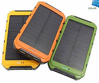 Солнечное портативное зарядное Power Bank 15000 mah, фото 1