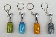 Сувенирные брелки в виде биты с подсветкой