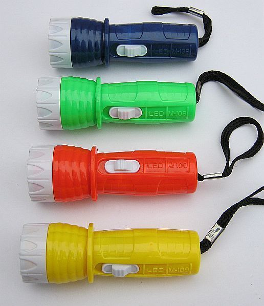 Супер фонарик с ремешком, батарейки