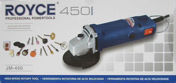 Угловая шлифовальная машина  (болгарка) Royce  JM-450