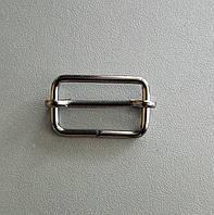 Регулятор перетяжка 25 мм черный никель