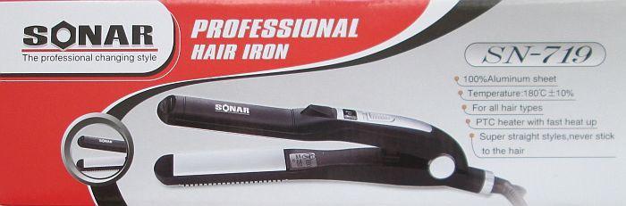 Утюжок для волос Sonar Sn-719