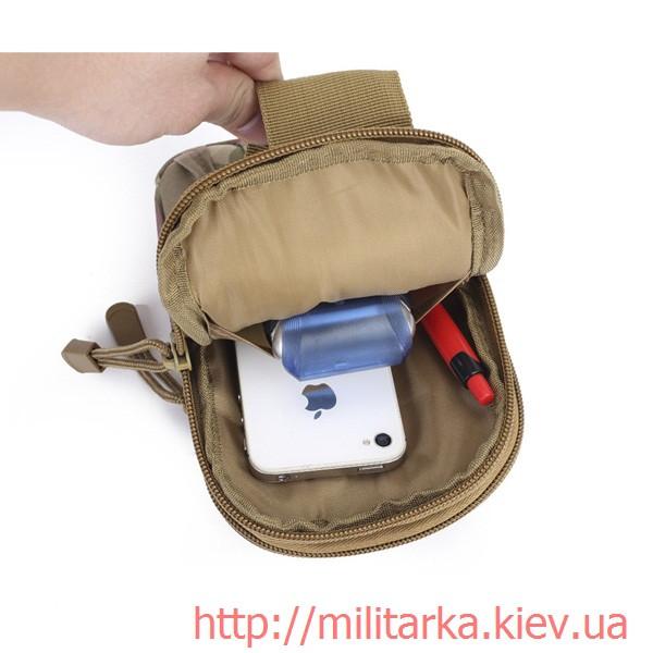 Сумка для телефона Multicam с MOLLE