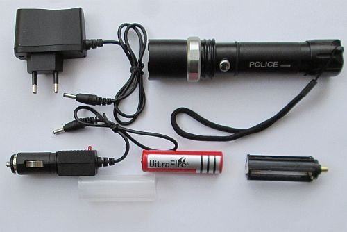 Фонарь Police BL-8626 10000W (аккумулятор, 2 зарядки, упаковка)