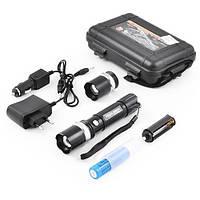Фонарь Police BL8626-2 50000W с ультрафиолетом (аккумулятор, 2 зарядки, упаковка,2 головы)