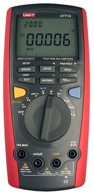 Цифровий мультиметр Unit UT71A