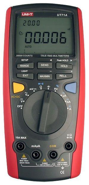 Цифровой мультиметр Uni-T  UT71A