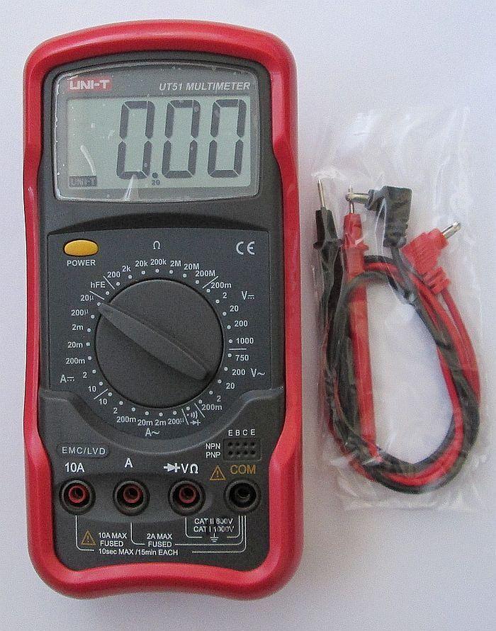 Цифровой мультиметр Uni-t UT51