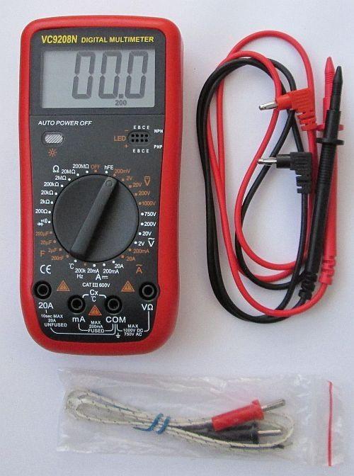 Цифровий мультиметр VC9208N