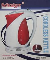 Чайник електричний Schtaiger Shg-96870, фото 1