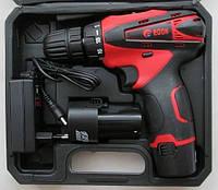 Шуруповерт акумуляторний Edon CF-1202, 12V