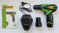 Шуруповерт аккумуляторный Pro Craft Pa12Li, фото 1