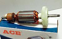 Якорь (ротор) для УШМ болгарки Bosch 10-125 (163*35 посадка 8мм)