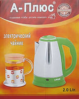 Електричний чайник A-plus Ek-2135, 2л, фото 1