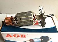 Якорь (ротор) для УШМ болгарки DWT 230SL; ИНТЕРСКОЛ (ИЖ) 2300 и др. (214*59/ посадка 12)