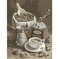 Картина по номерам Утренний Кофе КНО2047 Идейка