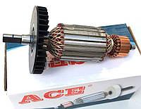 Якорь (ротор) для цепной пилы Интерскол ПЦ 16 (170*46/ усеченный вал)