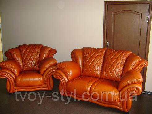 Претяжка мебели в кожу днепропетровск
