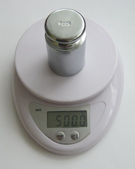 Ювелирные  весы до 1 кг (0.1) (WH-b05) с батарейками
