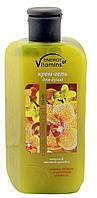Крем-гель для душа ENERGY of Vitamins пачули-желтая орхидея 260 мл