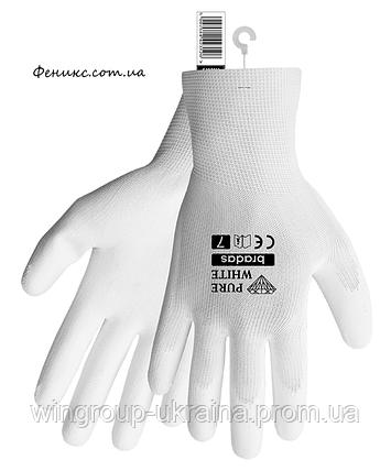 Перчатки защитные Pure white 8, 9, 10, 11, фото 2