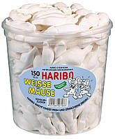Белые Мышки Харибо Weisse Mäuse Haribo Харібо  конфеты 1050гр. 150шт